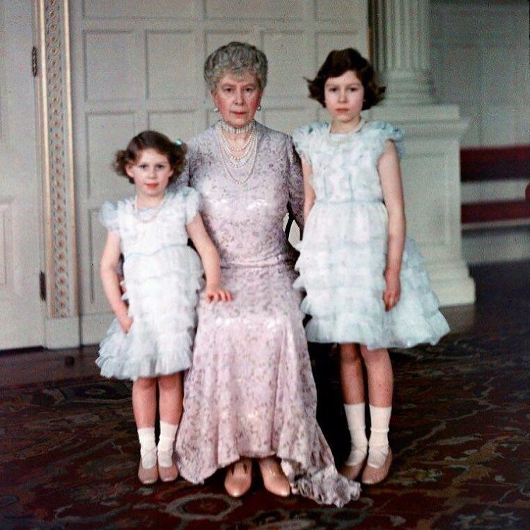 Image result for princess margaret and queen mary