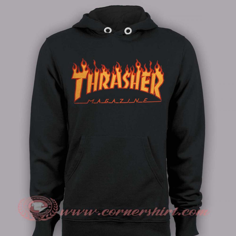 Hoodie Pullover Thrasher Magazine Cornershirt Com Hoodies Pullover Hoodie Custom Sweatshirts [ 1000 x 1000 Pixel ]