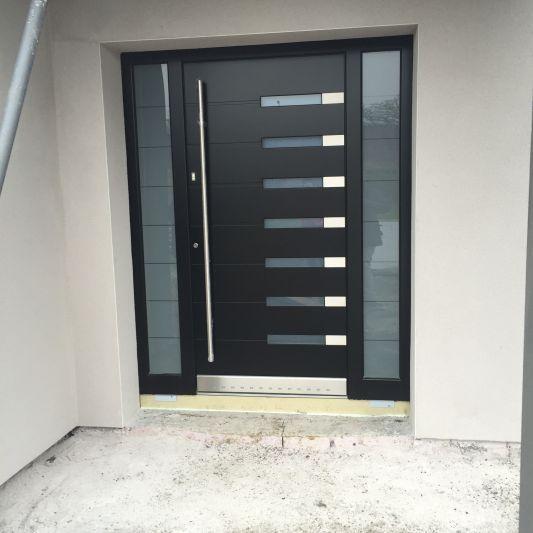 Porte De Maison Moderne 23 idées de (jolies) portes d'entrée | doors | portes, entrée, porte