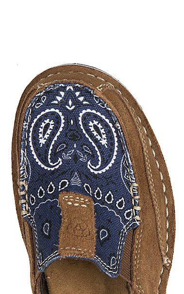 e5a764c18372f4 Ariat Women s Blue Paisley Suede Cruiser Casual Shoe