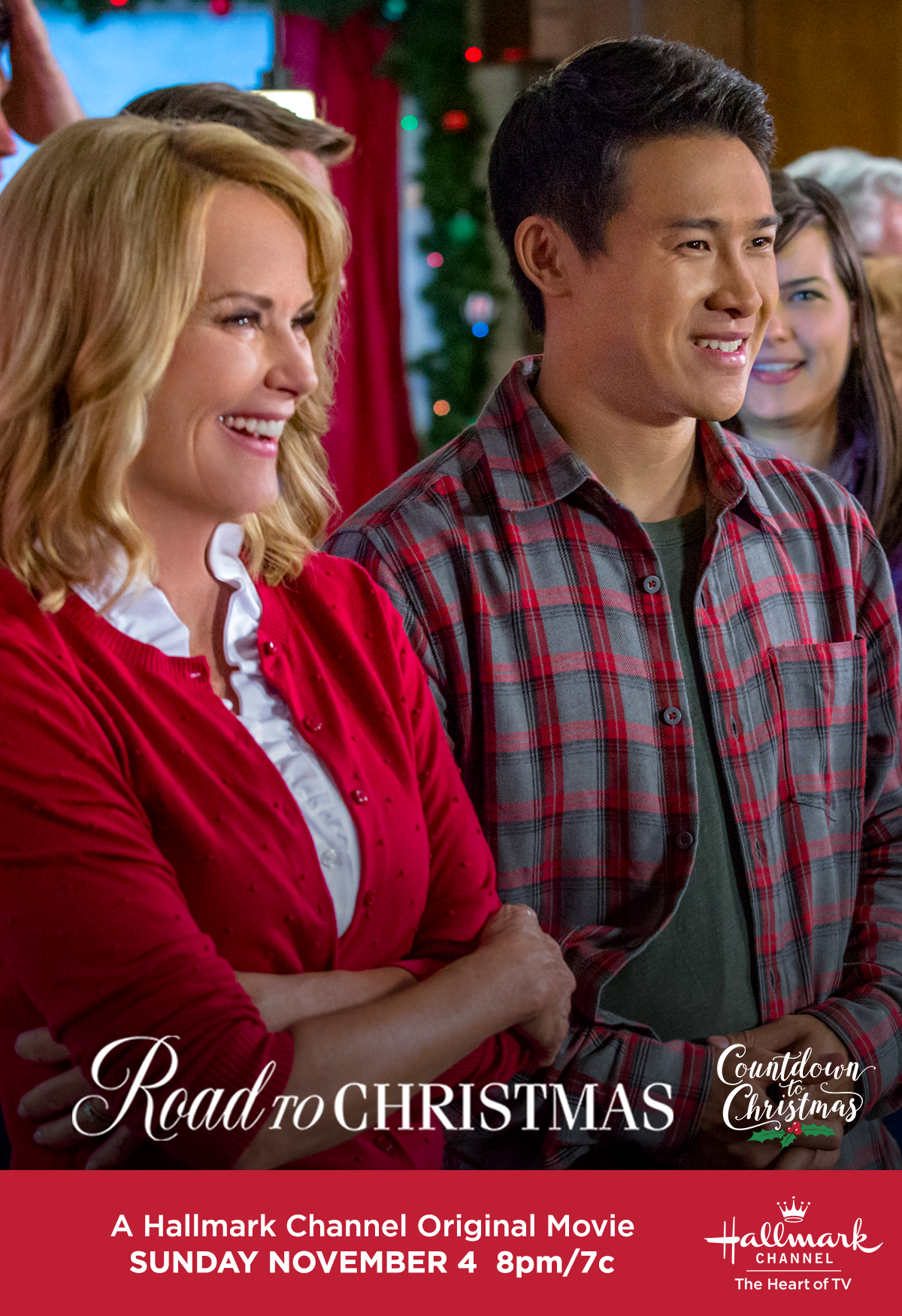Road To Christmas.What S Got Rebecca Staub And Cardi Wong Smiling About In
