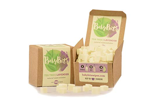 Baby Bits Wipes Solution Makes 1,000 Natural