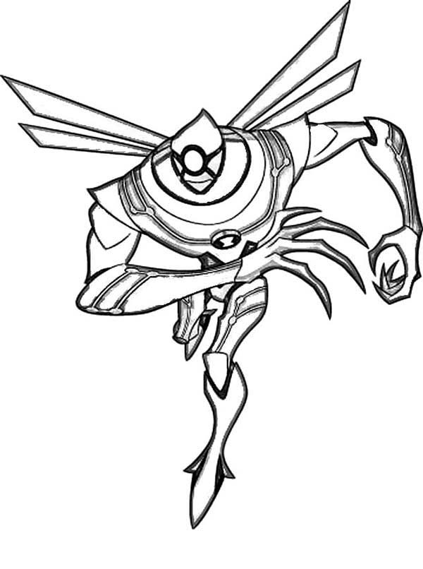 Nanomech From Ben 10 Ultimate Alien Coloring Page Download Print Online Coloring Pages For Free Cartoon Coloring Pages Coloring Pages Online Coloring Pages