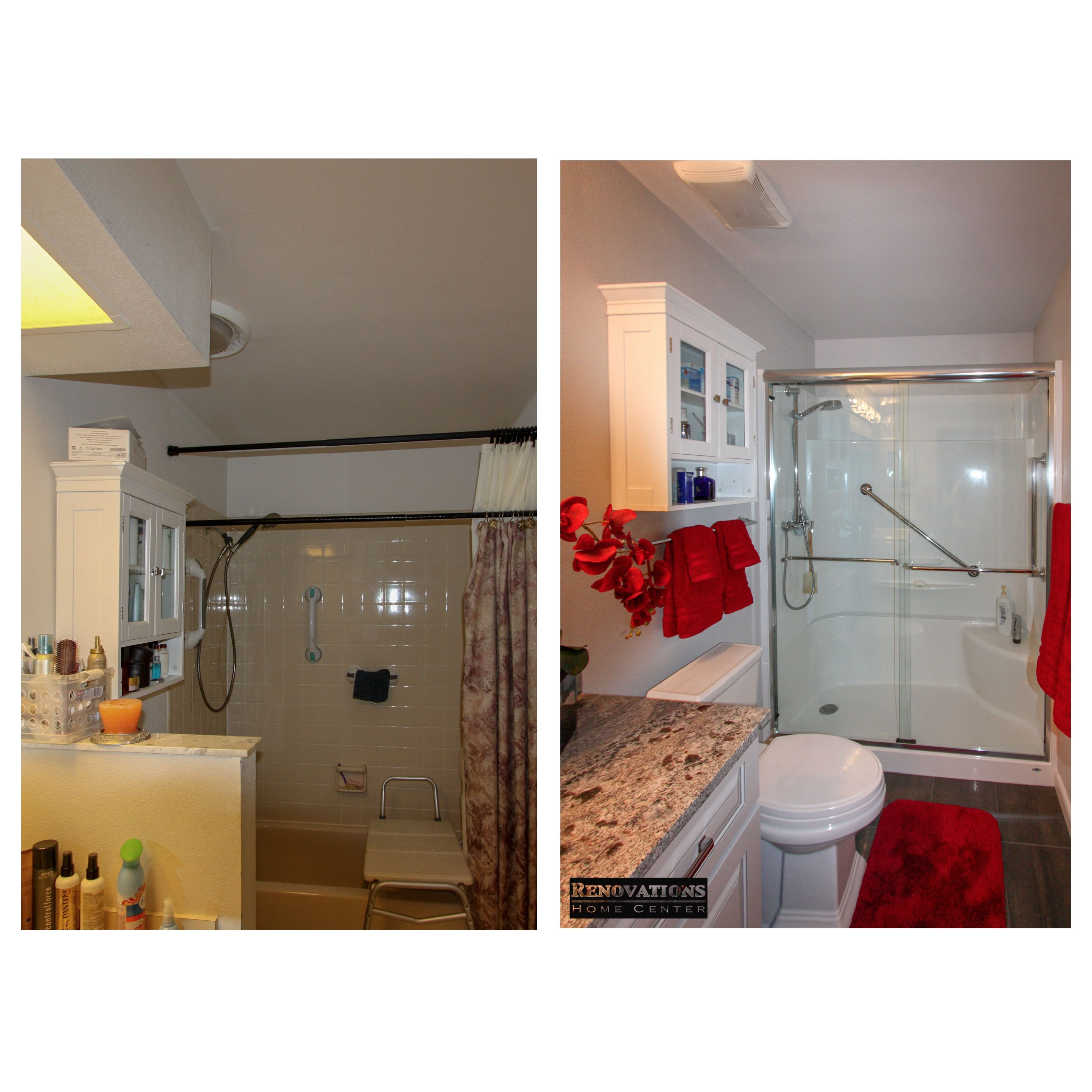 Kitchen And Bathroom Remodeling Contractors: Full Bathroom Renovation For Our Client In Palm Harbor. We