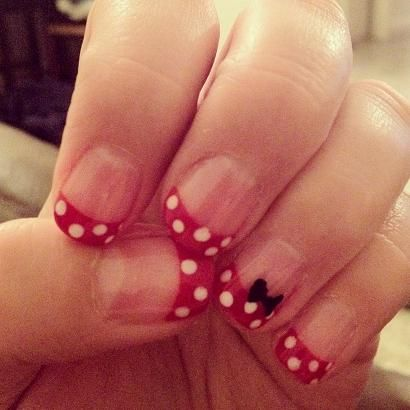 My nails are ready for Disneyland :)