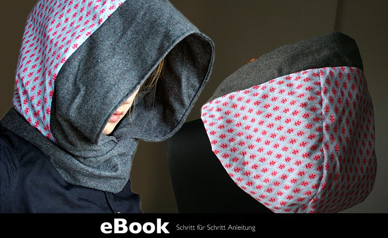 Ebook Scoodie Hoody Pattern Diy Cawl Hood Sewing Pattern By Mrsb