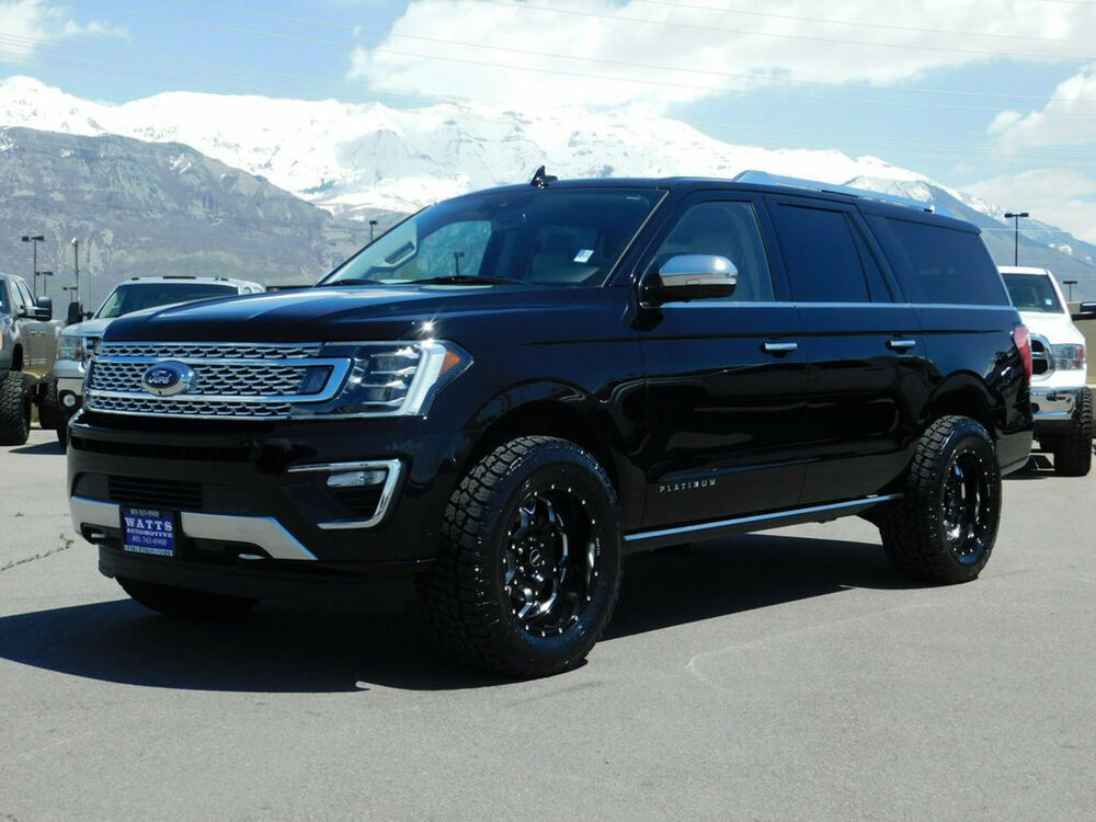 For Sale 2018 Ford Expedition Max Platinum Lifted Ford Expedition