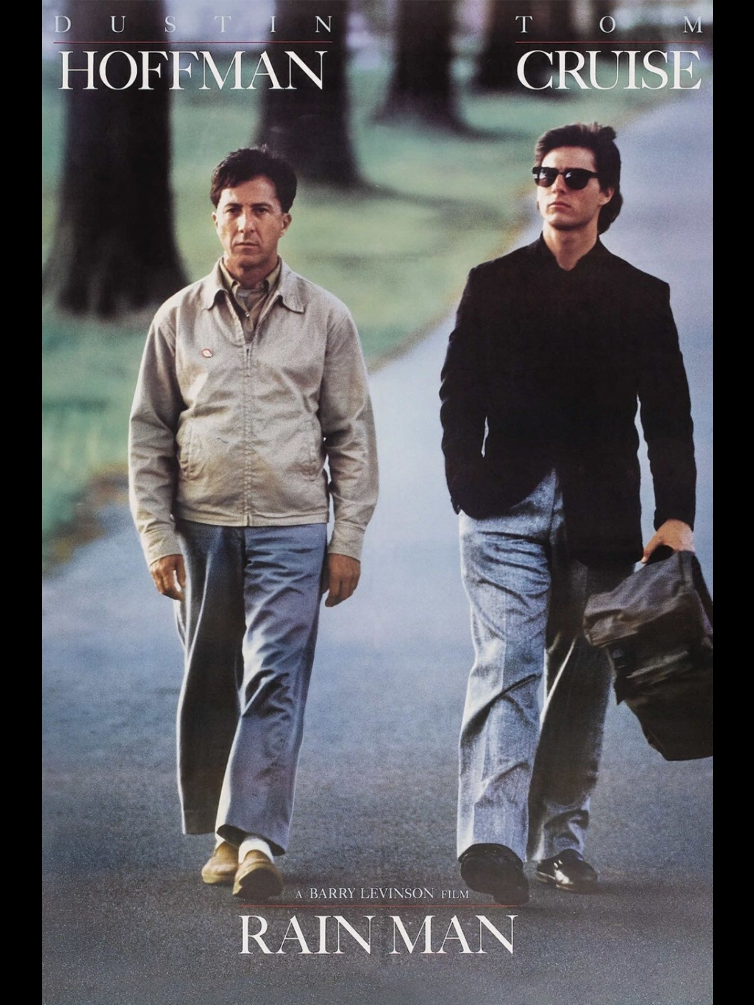 Rain Man 1988 A Film By Barry Levinson Movies Dustin Hoffman Tom Cruise Valeria Golino Gerald R Molen Jack Mur Man Movies Movies Internet Movies
