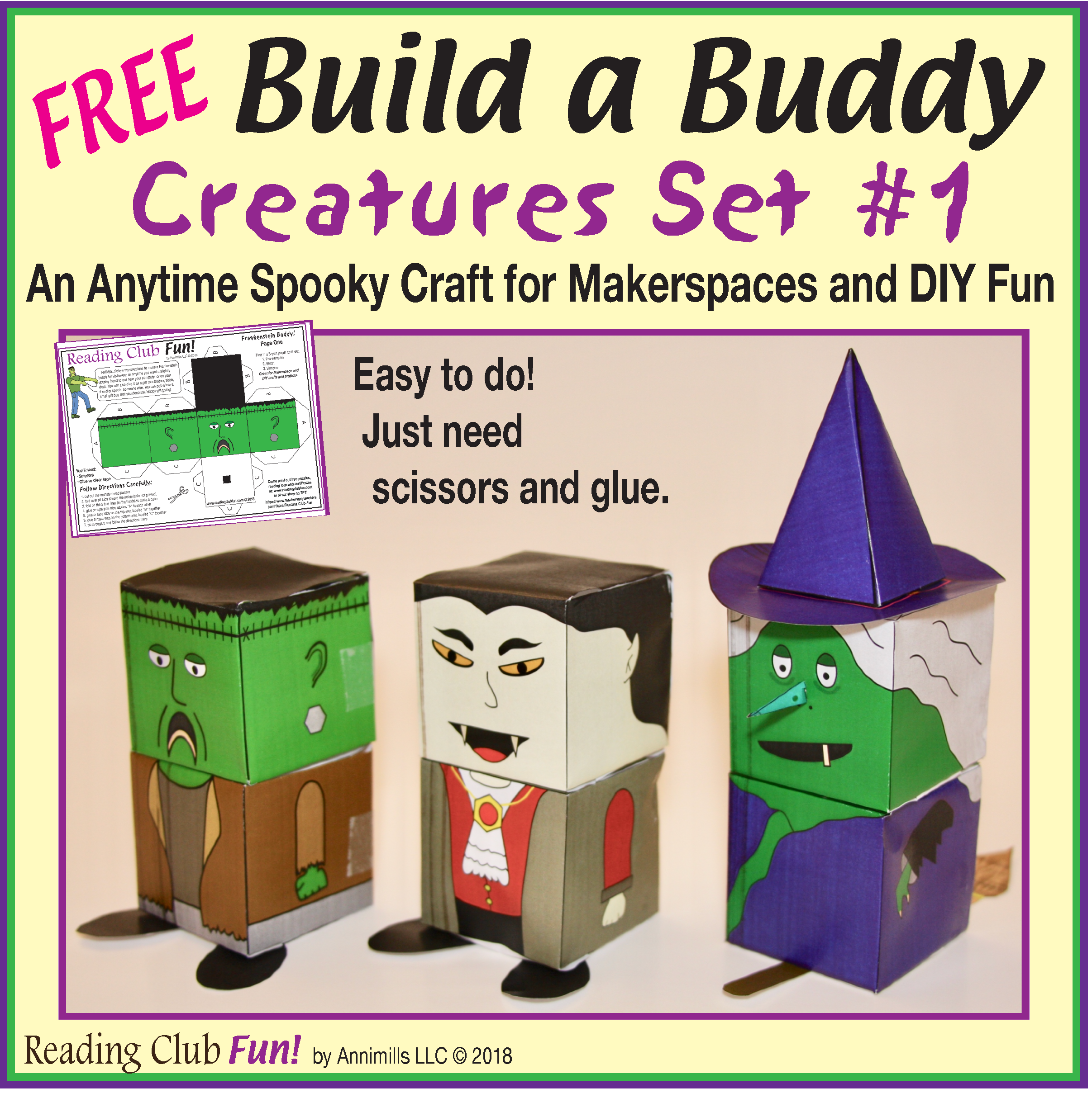 Free Kids Will Have A Great Time Building These Three