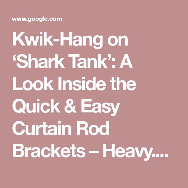 Kwik-Hang On 'Shark Tank': A Look Inside The Quick & Easy