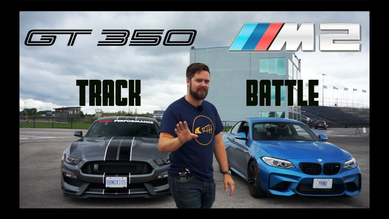 Ford mustang shelby gt350 vs bmw m2 track review one track mind ep 4 youtube