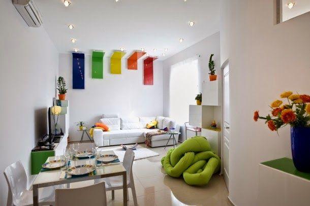 Embellecer un peque o apartamento habitar pinterest for Como organizar un apartamento pequeno