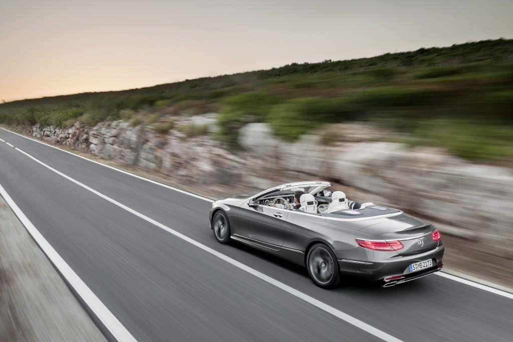 Mercedes-Benz S 500 Cabriolet  [Fuel consumption combined: 8,5 (l/100 km) | CO2 emission combined: 199 g/km] #mbhess #mercedes #cabrio