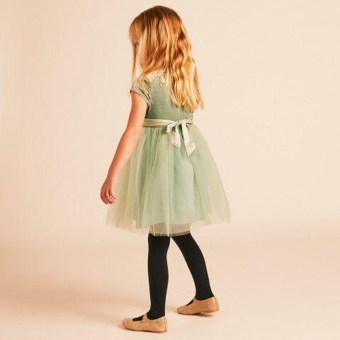 Velvet Moon Dress - Dusty Blue - Dresses - Girls  b68c0002d309
