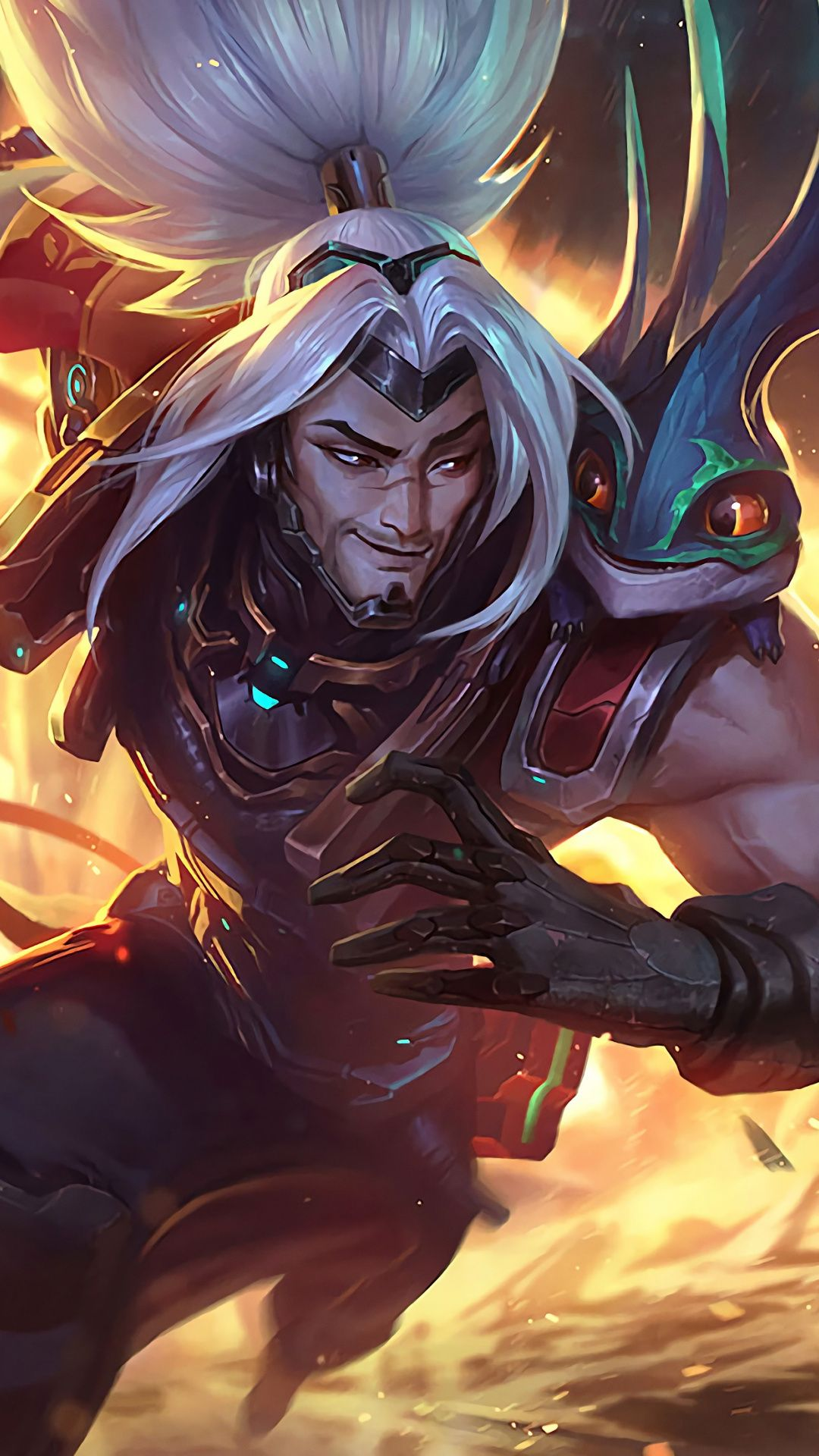 Yasuo, video game, League of Legends, 1080x1920 wallpaper