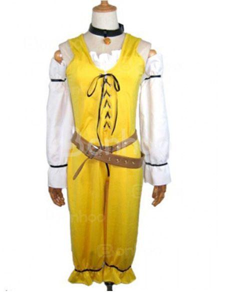 Hack Yellow Cosplay Costum