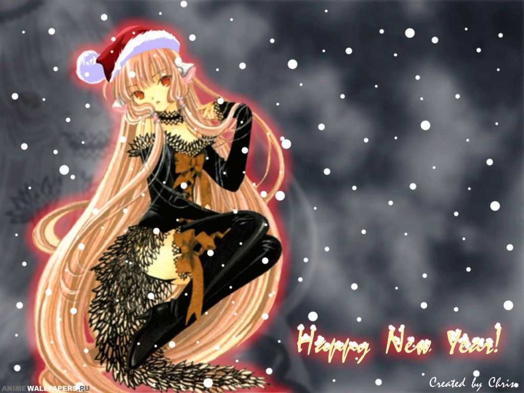 New Year New Year Anime Chinese New Year Girl Wallpaper