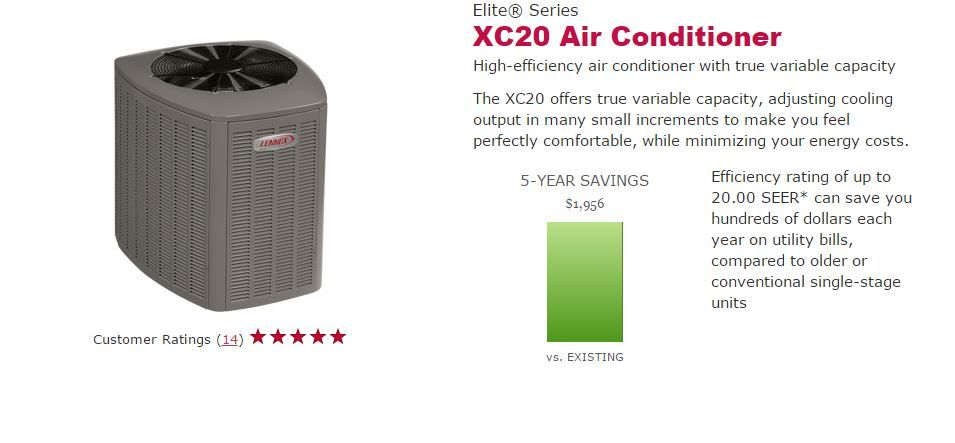 The New Lennox Xc20 Air Conditioner Innovation In Air Conditioning At Its Best Ask Me How To Get O High Efficiency Air Conditioner Hvac Equipment Energy Cost