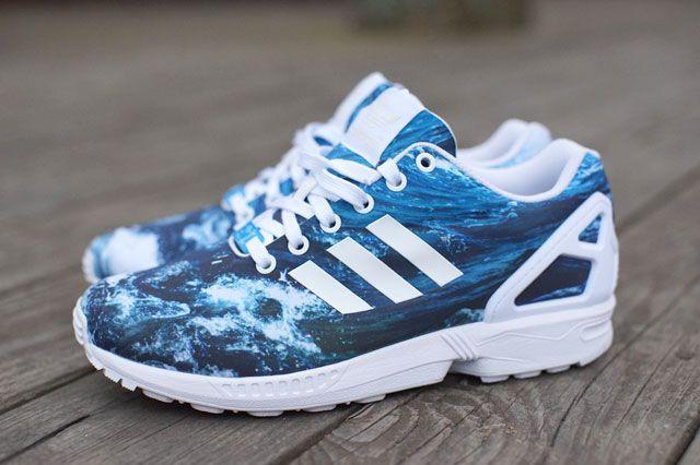 zx flux adidas lightning