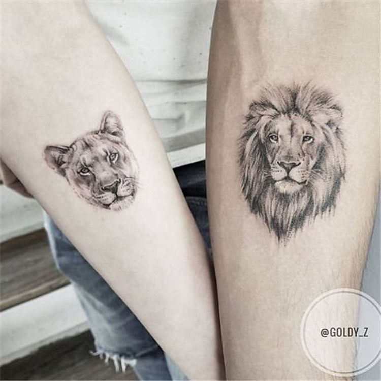 60 Meaningful Unique Match Couple Tattoos Ideas