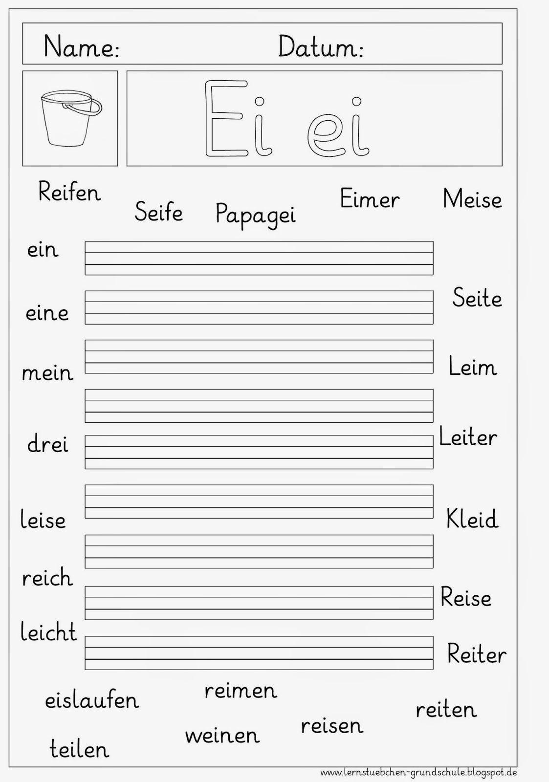 ei ei erkennen und schreiben 1 klasse schule arbeitsbl tter deutsch unterricht und. Black Bedroom Furniture Sets. Home Design Ideas