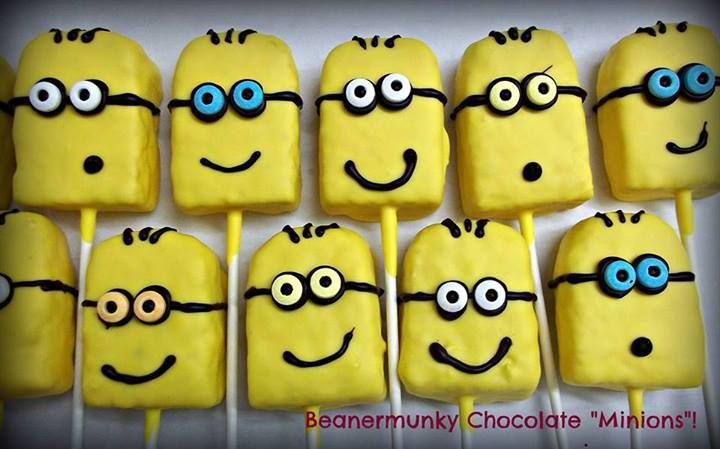 Beanermunky Chocolate now has Minions! Maybe they will help us make the chocolate.