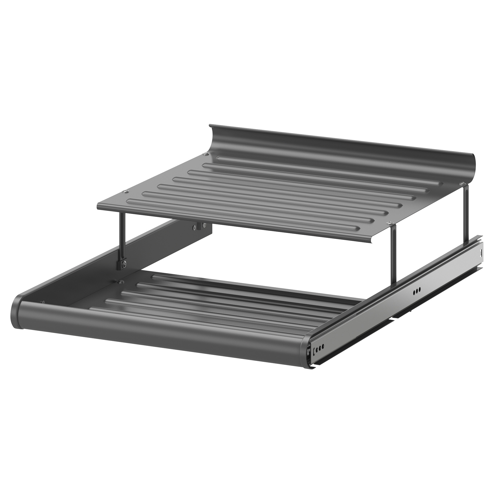 komplement pull out shoe shelf dark gray 19 5 8x22 7 8 ikea