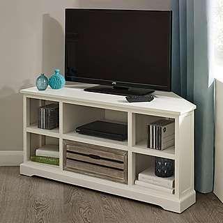 Atlanta White Living Furniture Collection Dunelm Hoek Tv Hoek