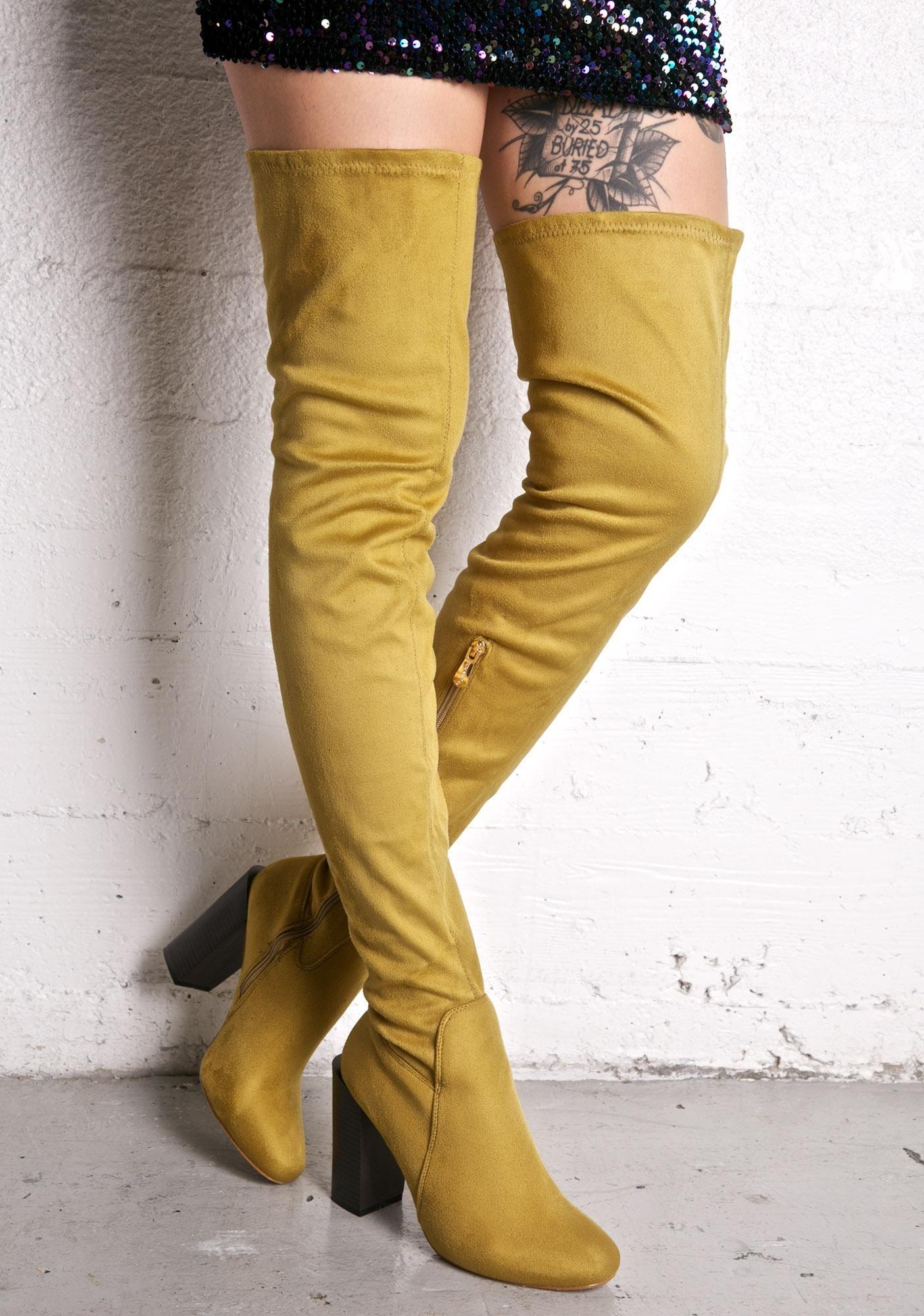 5bf8ac649386 Thigh High Construction Boots - Yu Boots