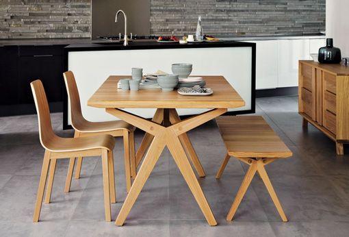 mesa de comedor de madera   Diseño de mesas de comedor   Pinterest ...