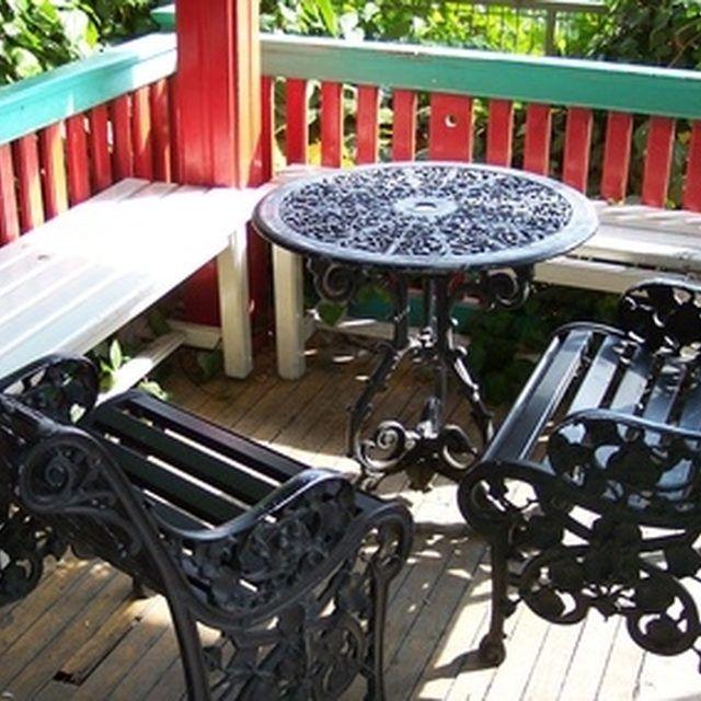 paint cast aluminum patio furniture