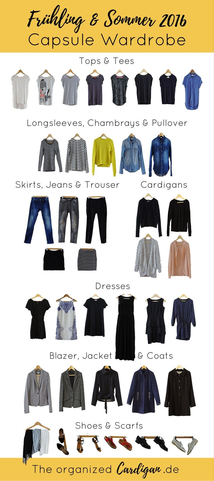 Capsule wardrobe fr hling sommer 2018 my style for Minimalistischer kleiderschrank