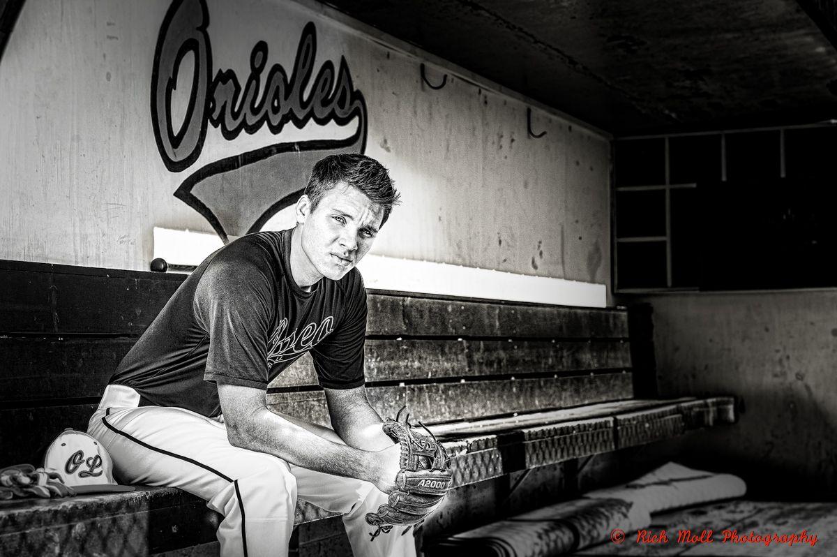 Senior picture boy baseball Rich Moll graphy Senior