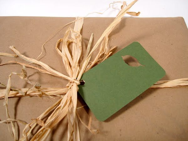 brown paper gift wrapping - Google Search
