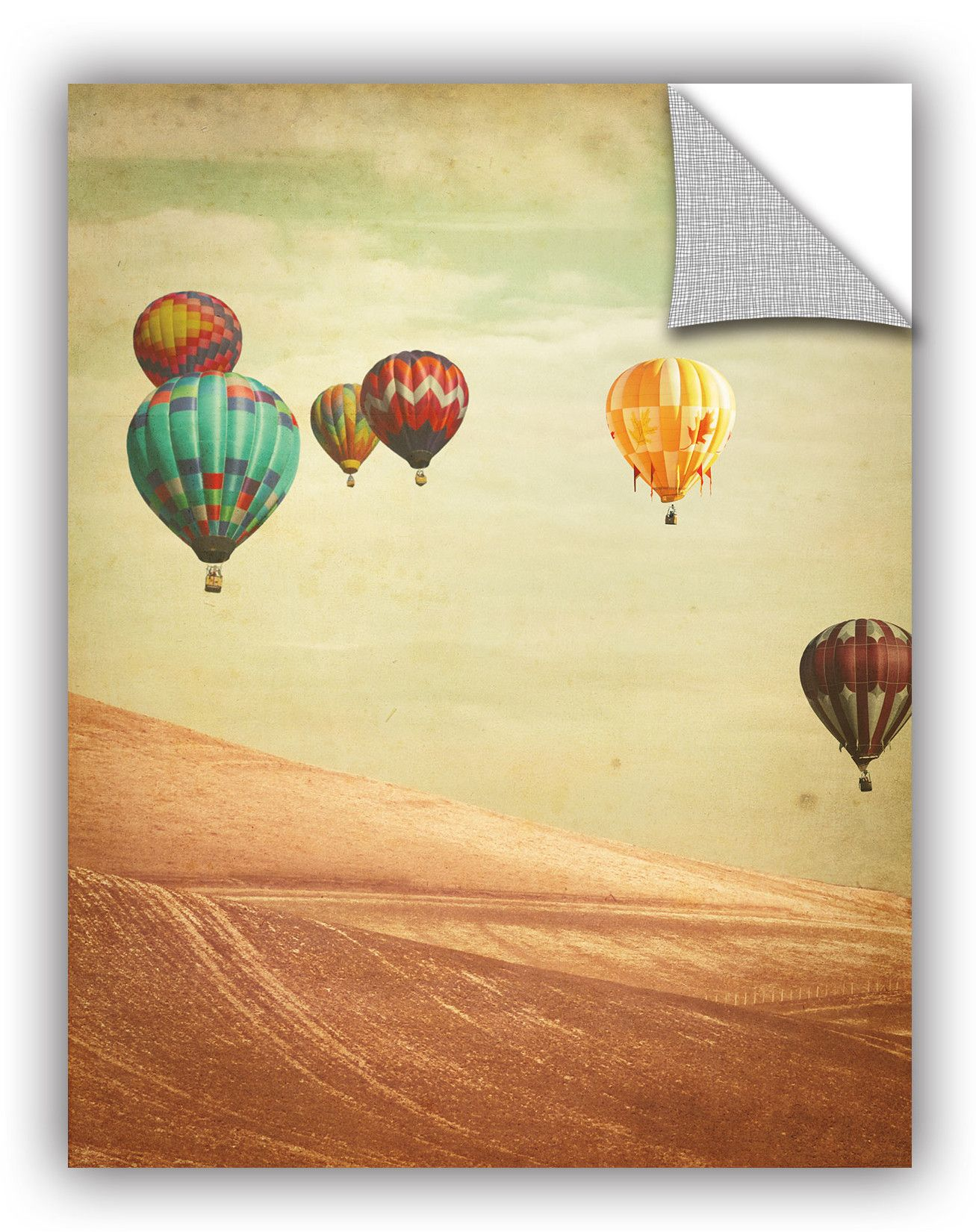 Keri Bevan Wanderers Wall Decal | Hot air balloons and Air balloon