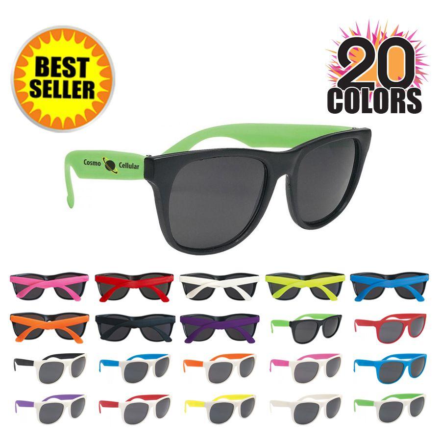 Custom Printed Wedding Sunglasses w/ 26 Colors | Favors, Wedding and ...