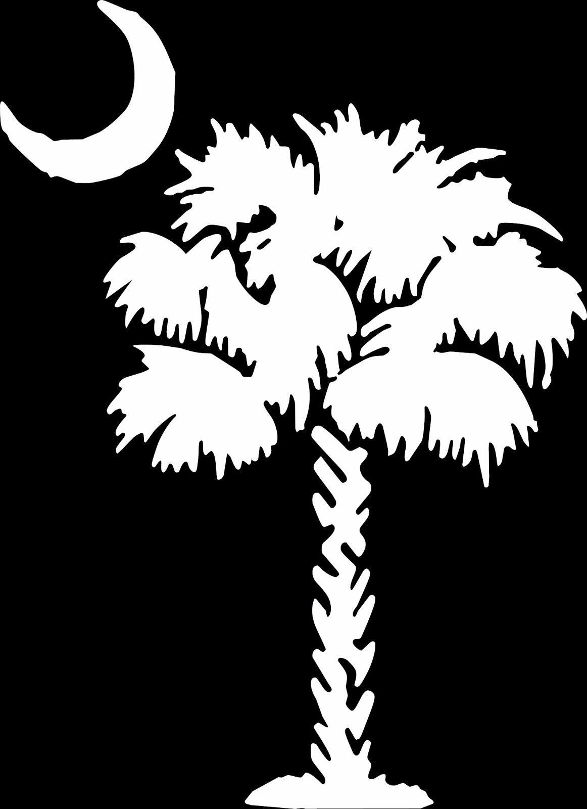 Pin By D Rudy On South Carolina Palmetto Tree Tree Decals Outdoor Wall Art [ 1600 x 1162 Pixel ]