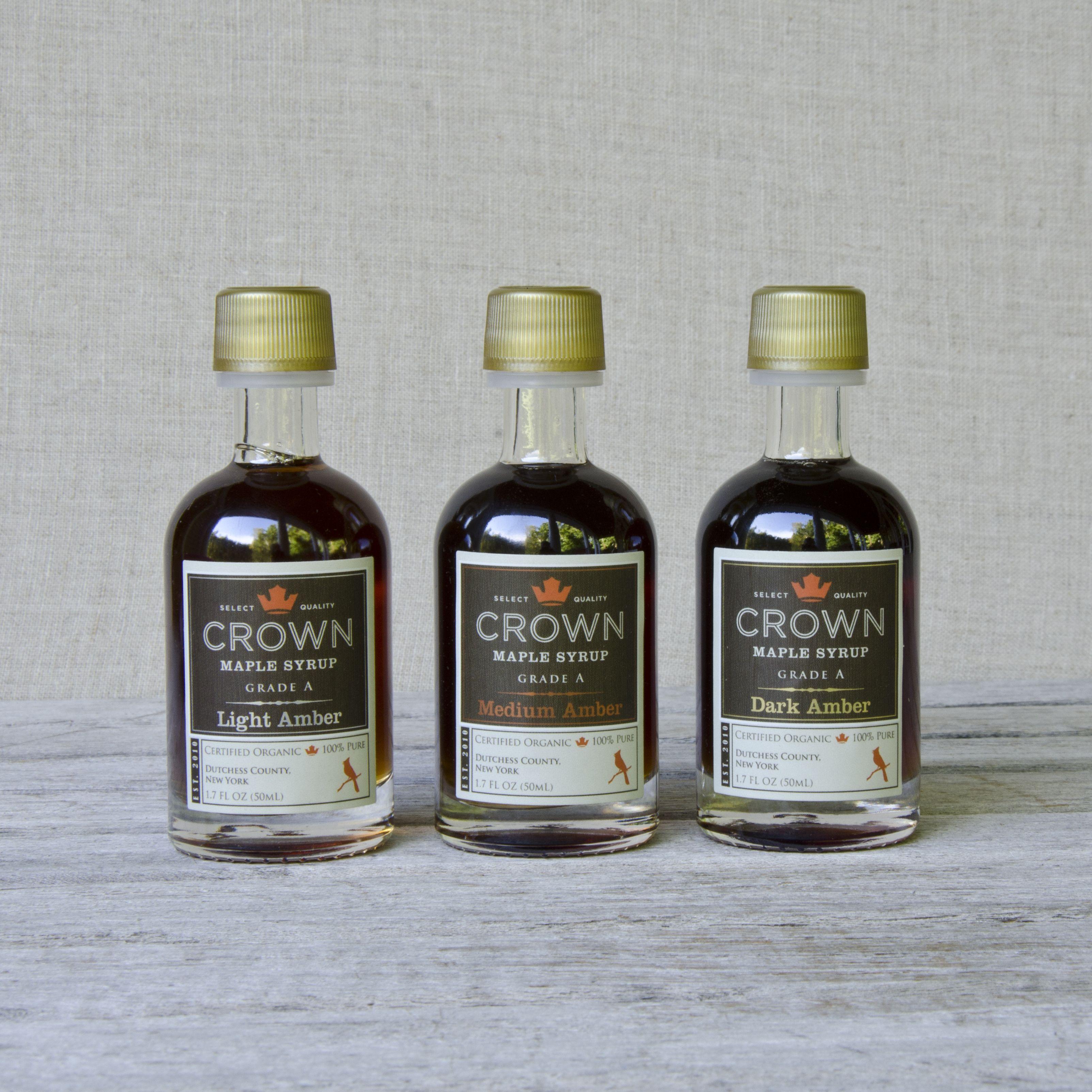 Petite trio sampler gift set crown maple syrup gift set