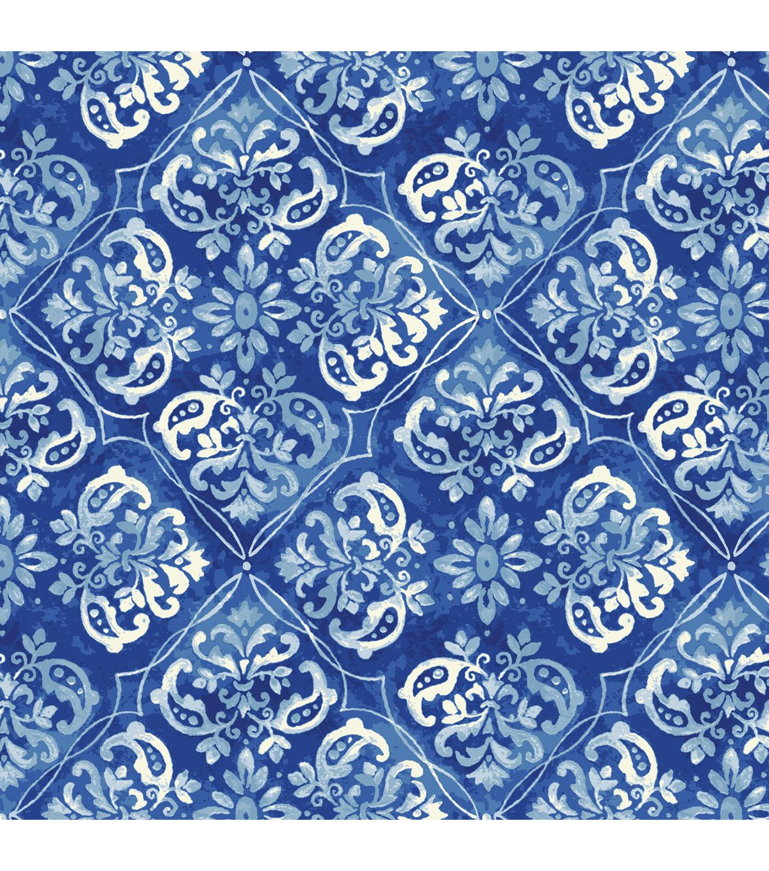 Keepsake Calico Fabric- Barcelona Foulard Diamond at Joann
