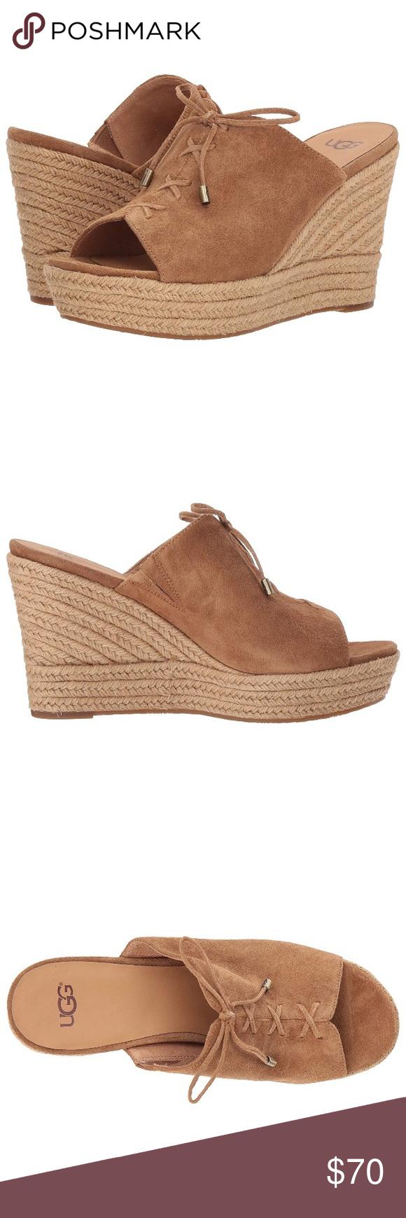354c856f0cb UGG Women's Giorgia Wedge Sandal Size 12 NWOT Beautiful UGG Sandals ...