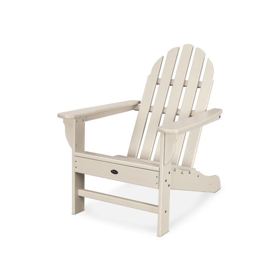 Trex Outdoor Furniture Adirondack Sand Castle Plastic