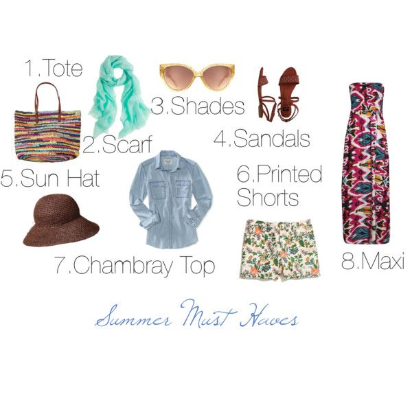 """Summer Must"" by marcyj147 on Polyvore"