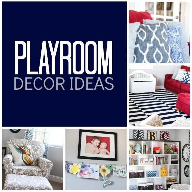 Beau Playroom Decor Ideas   Classy Enough To Be Part Of The House, But Cute  Enough