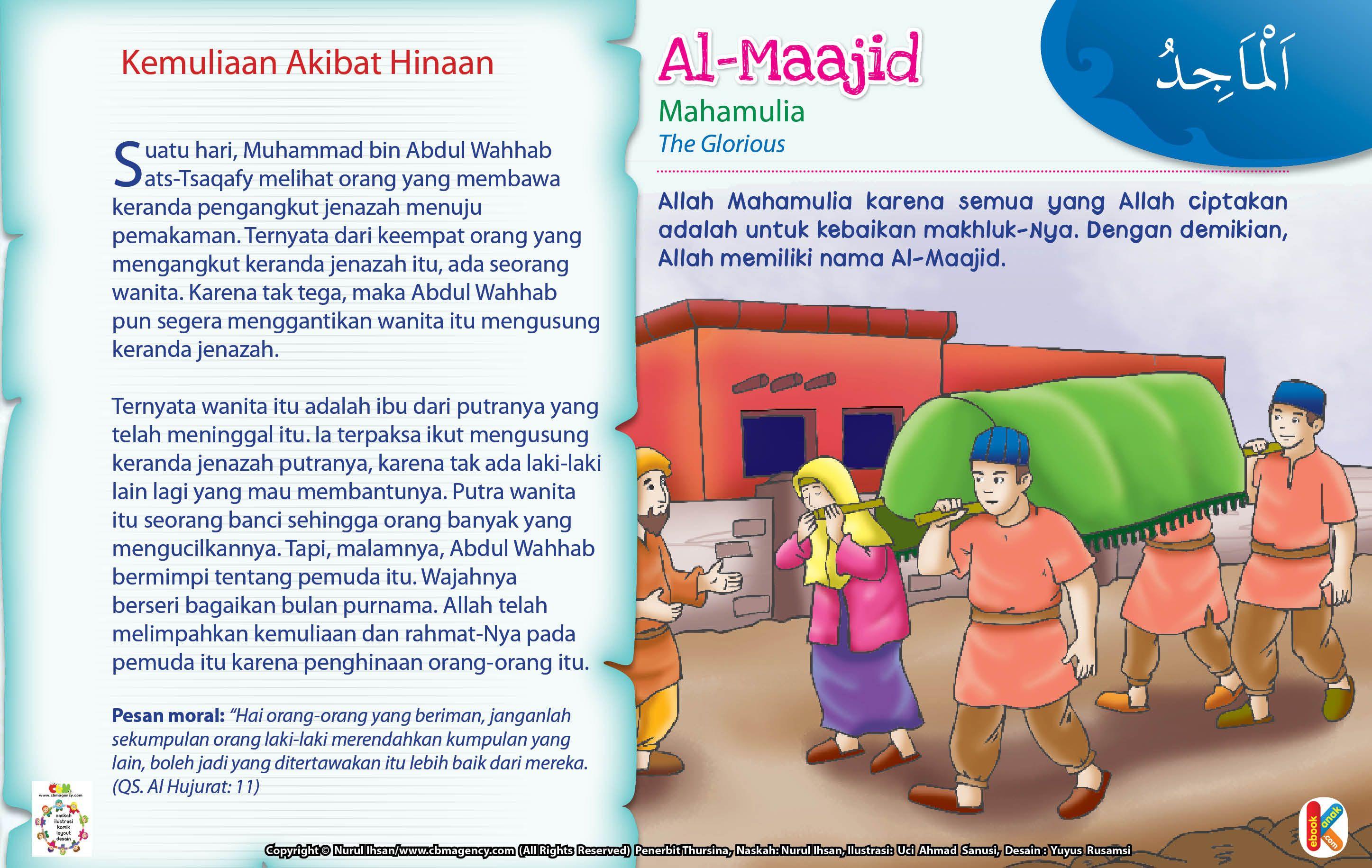 Kisah Asma Ul Husna Al Maajid Ebook Anak Pendidikan Empati Orang