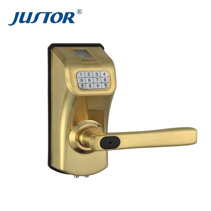 High Quality Glass Fingerprint Lock Door Thickness 50 55mm Useful Time 500 000 Times
