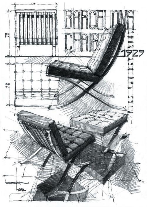 Barcelona Chair (via Beelog)