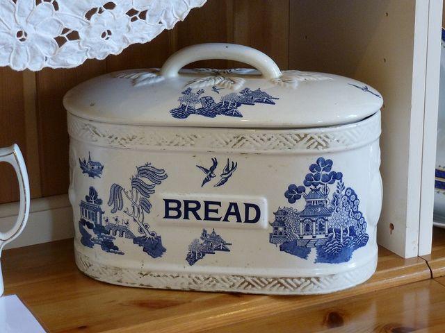 Bountiful Ceramic Bread Box Ceramic Bread Box Bread Boxes