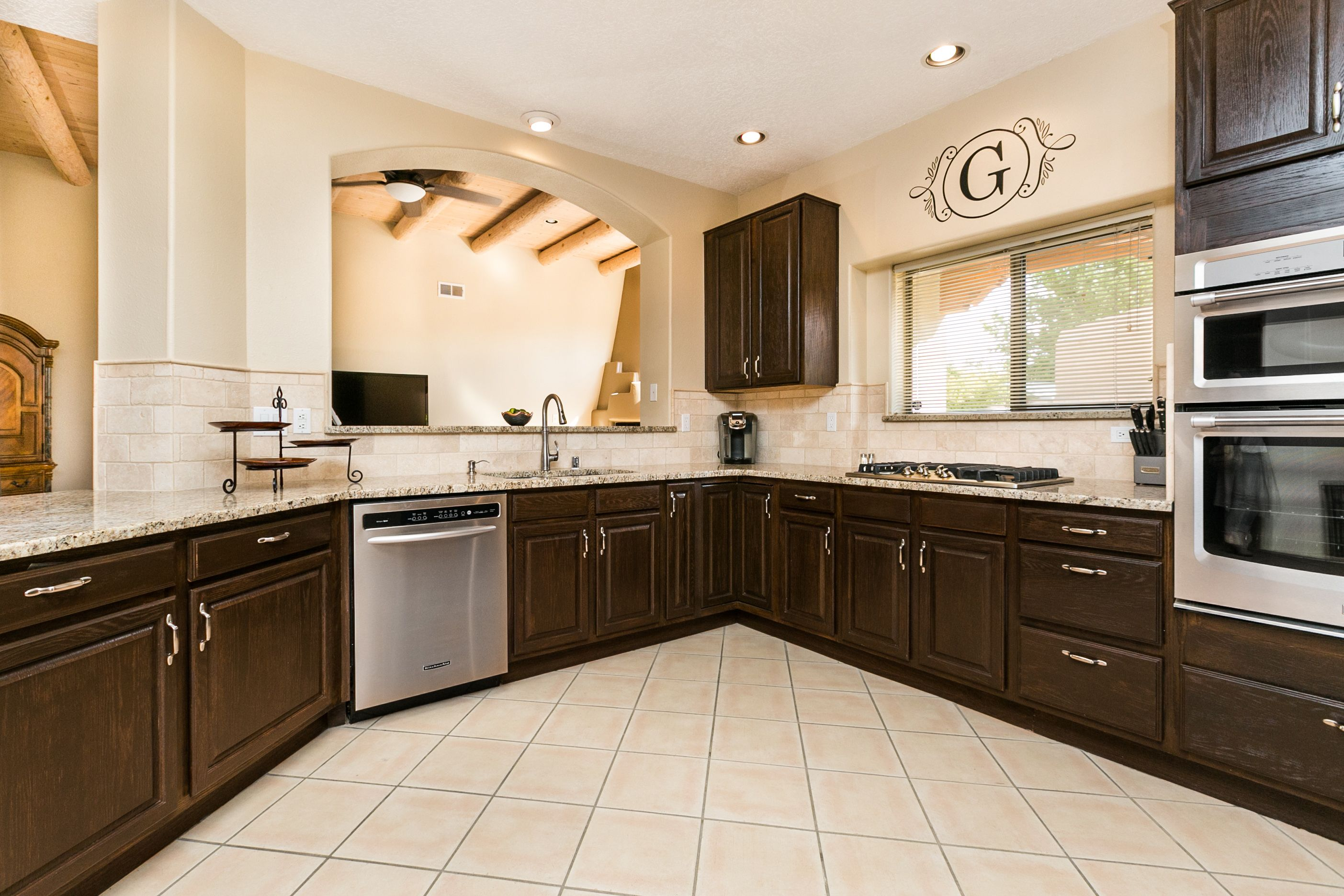 Griego Residence Albuquerque Kitchen Remodel Design Alliance Inc Beautiful Kitchen Cabinets Countertop Design Kitchen Remodel Design