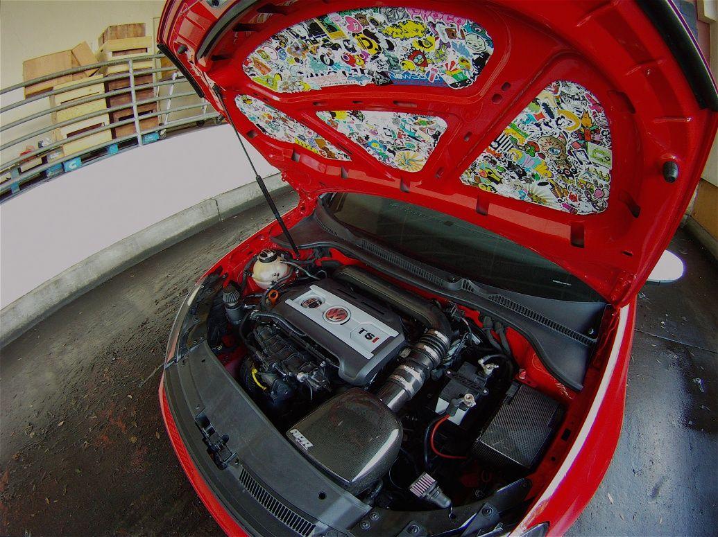 Sticker bomb car design -  Stickerbomb