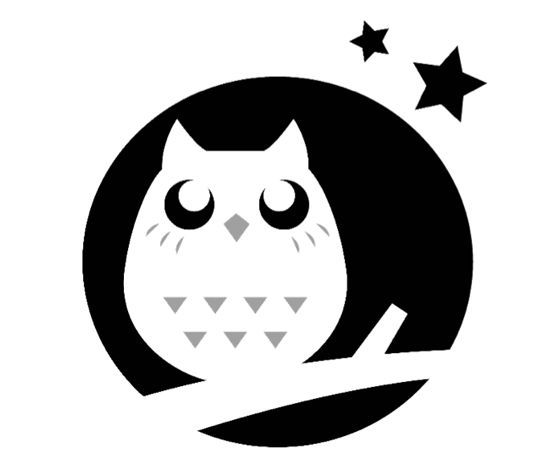 Download this night owl pumpkin carving stencil and other Architecture pumpkin stencils